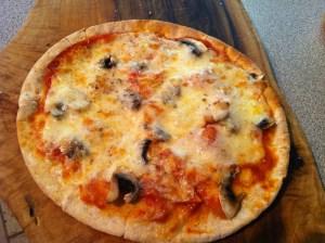 personal-size pita pizza