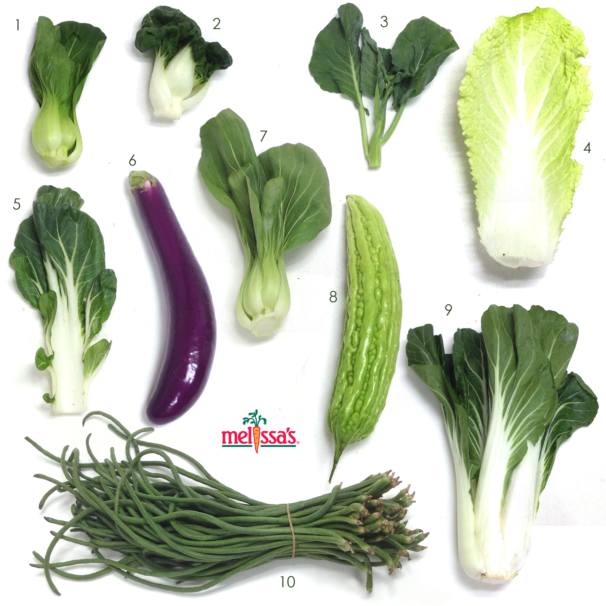 A Visual Guide to Asian Vegetables