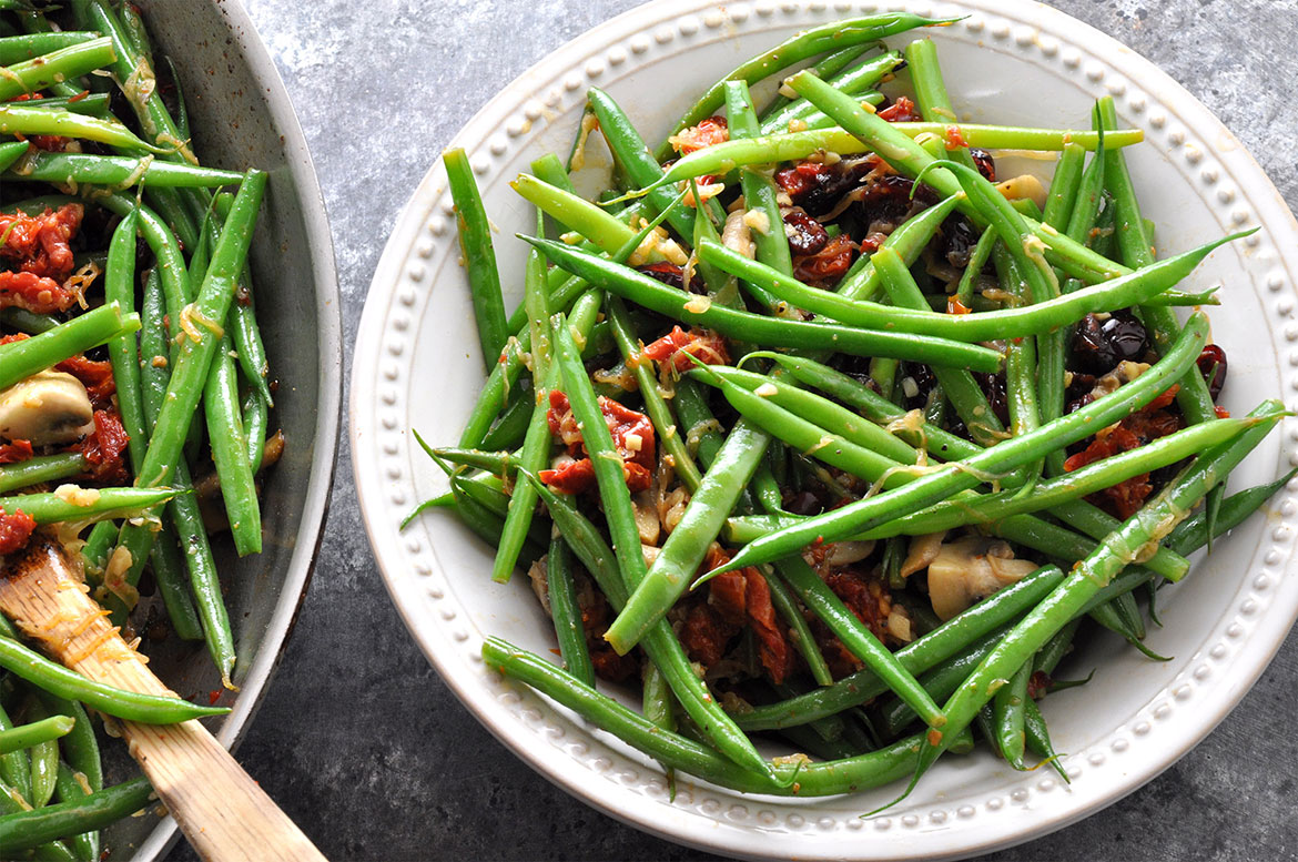 Sauteed Green Beans   Extra Flavor