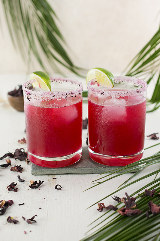 Jamaica Ginger Margarita l jamaica hibiscus ginger margarita cocktail