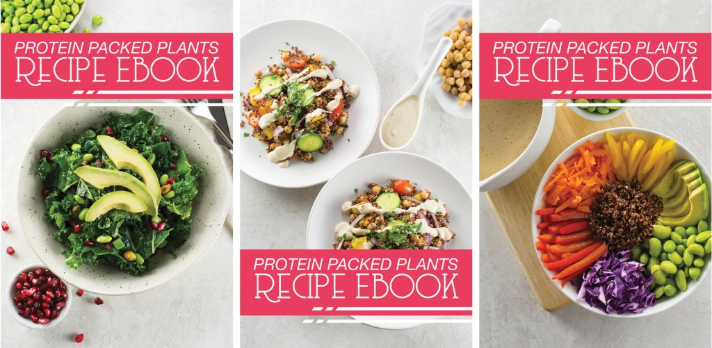 Plant-Based Protein eBook | vegan recipes, bowl recipes, protein salad, vegan protein, plant-based recipe