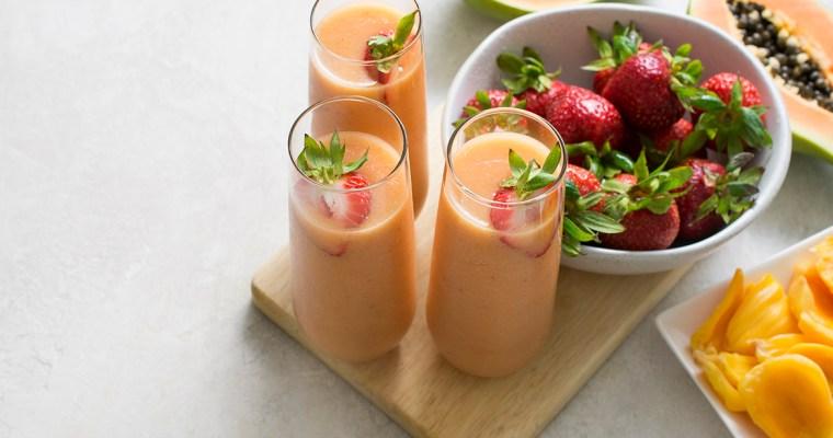 Strawberry Jackfruit Smoothie