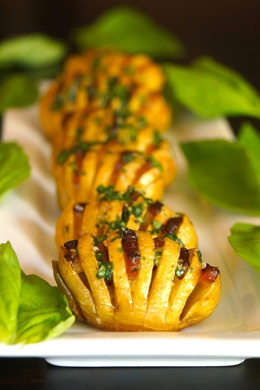 The Ultimate Potato Recipe Roundup l bacon hasselback dutch yellow potatoes