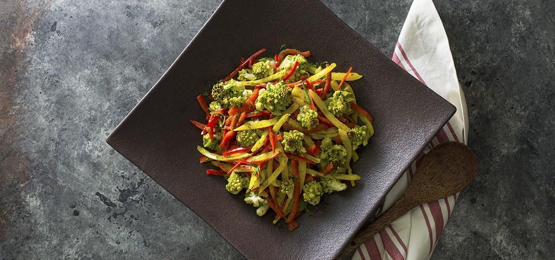 Roasted Romanesco Salad