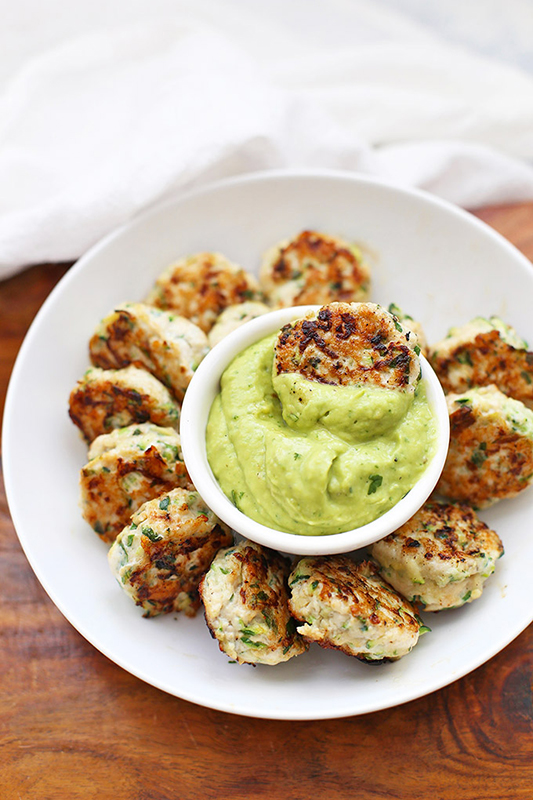 The Best of Whole30 Recipe Roundup l chicken zucchini poppers