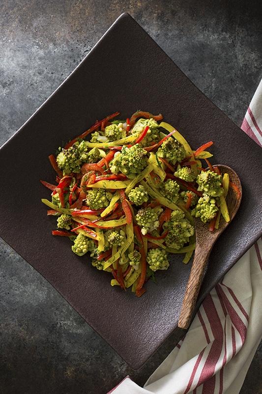 Toasted Romanesco Salad l toasted romanesco salad