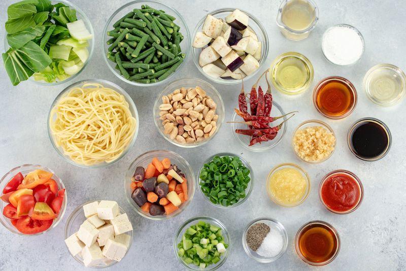 kung pao noodles, kung pao dish, chinese new year dish, chinese new year traditions, noodle dish, noodle recipe