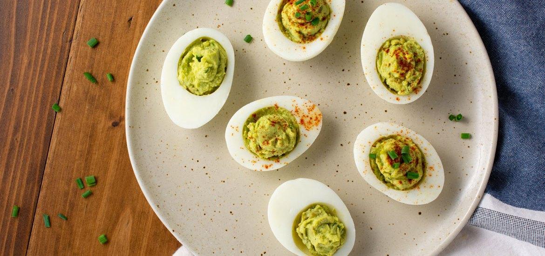 How to Make Avocado Deviled Eggs