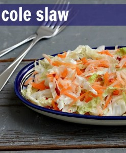 cole slaw