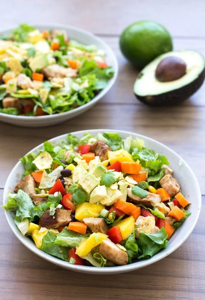 This chipotle chicken taco salad recipe is a delicious combination of flavors. Try this dish for a healthy meal on a busy night.