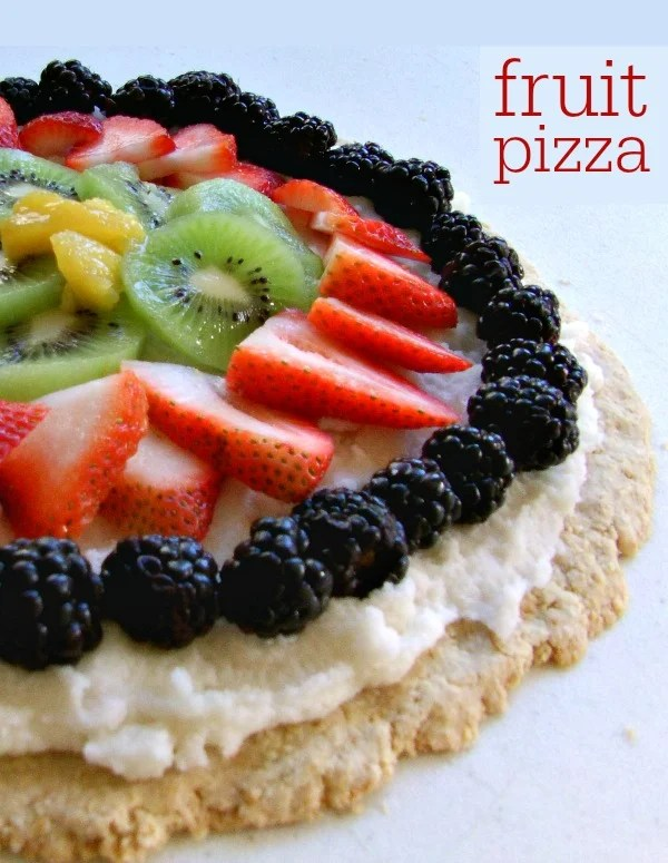 This fruit pizza is a fun summer dessert recipe full of fresh flavor from the farm!