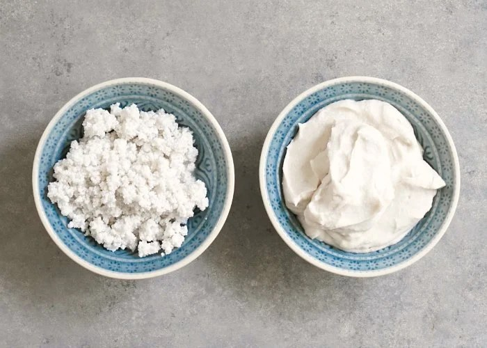 Whipped coconut cream makes the best dairy free dessert topping