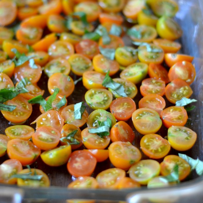 Oven roasted tomatoes from Real Food Real Deals