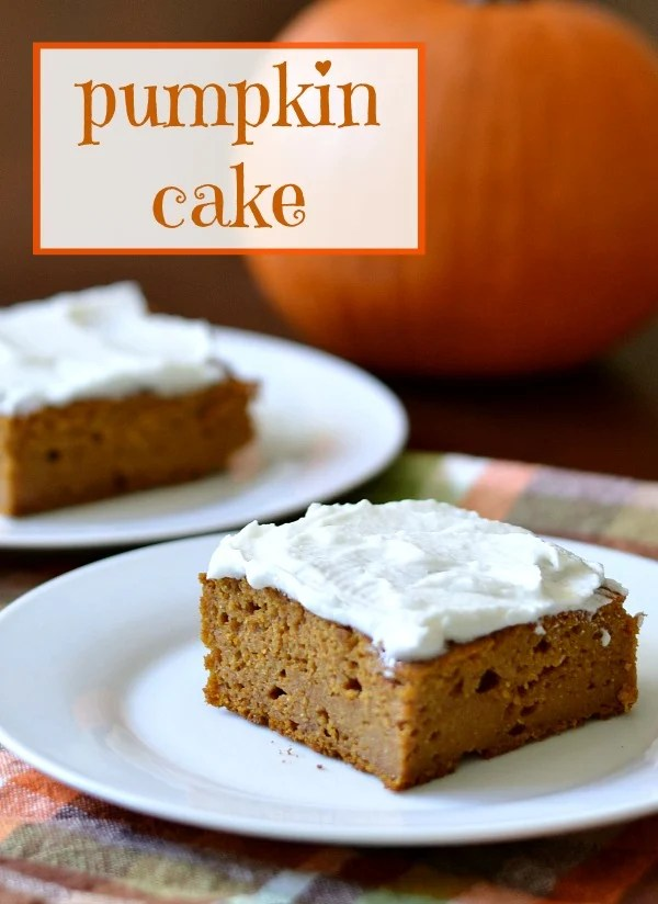 Pumpkin cake is a delicious, healthy recipe that makes a festive fall dessert. This is the perfect recipe for a bake sale or last-minute dinner guests.