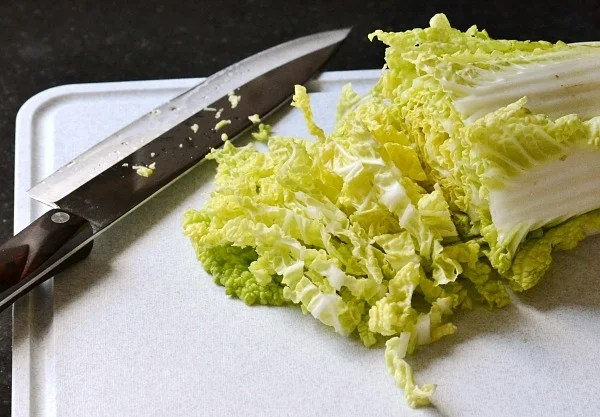 Napa Cabbage is the perfect vegetable for this Ginger Lime Asian Slaw. Recipe from Real Food Real Deals.