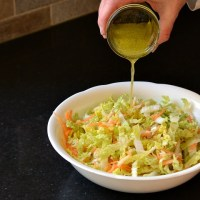 Ginger Lime Asian Slaw