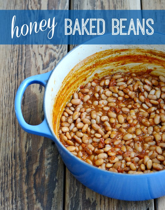 These stovetop honey baked beans are a delicious, kid-friendly side dish full of protein and flavor. At $.27 per serving, they're also very affordable.