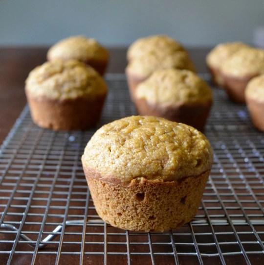 Pumpkin muffins are a delicious fall dessert.
