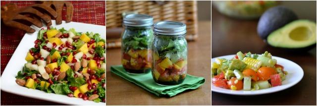 real food salads