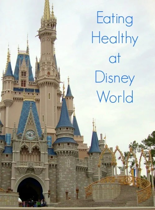 It IS possible to eat healthy at Walt Disney World. You just need to know where to look for healthy food. Tips for eating healthy at Disney from Real Food Real Deals.