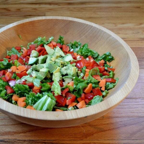 shallot vinaigrette salad