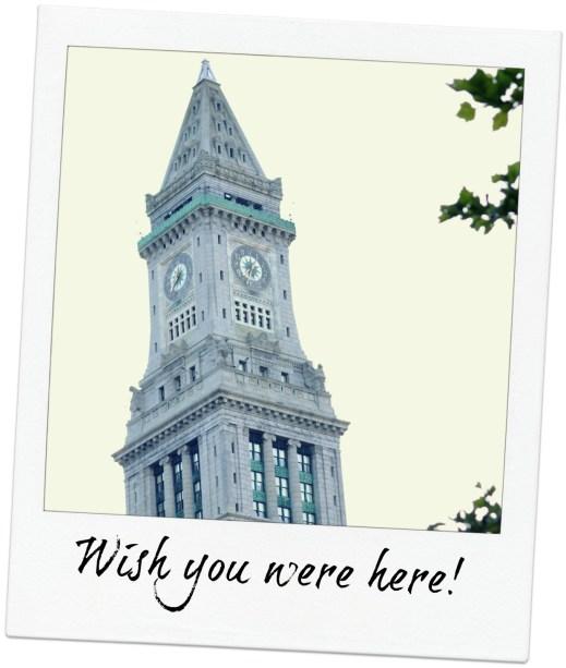 Boston clock tower