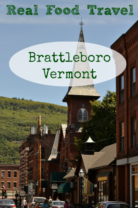 Brattleboro, Vermont is a great town to visit on a family vacation with lots of healthy, locavore, real food dining options. They have one of my all-time favorite farmers markets!
