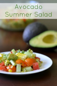 avocado summer salad