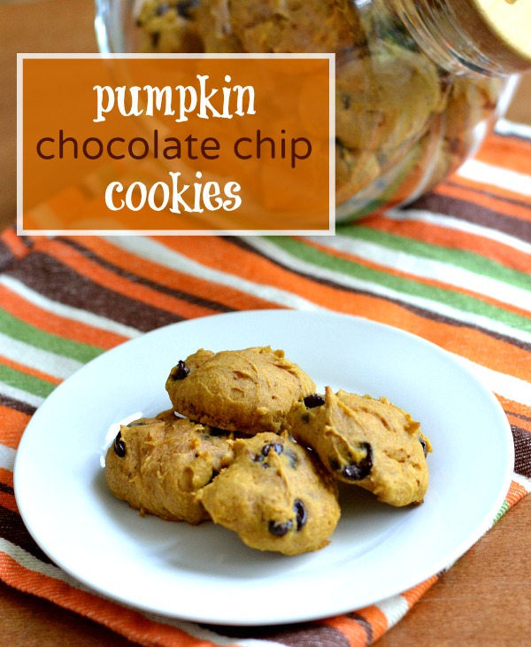 These pumpkin chocolate chip cookies are a healthy, kid-friendly fall dessert. They're perfect for parties and bake sales, but save a few for yourself.