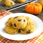 These gluten-free pumpkin chocolate chip cookies are so delicious!