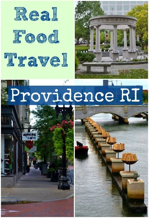 Providence, Rhode Island is an ideal destination for a family vacation! There's so much great healthy local food. Perfect trip for a locavore!