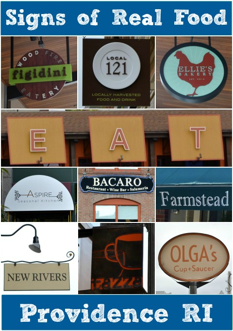 signs of real food Providence
