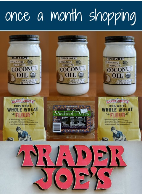 There are so many temptations at Trader Joe's. That's why I do Once a Month Shopping there. It's a great way to save money on groceries.