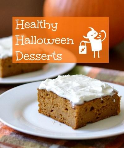 Ten Healthy Halloween Desserts