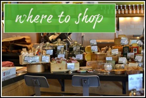 where to shop in Providence