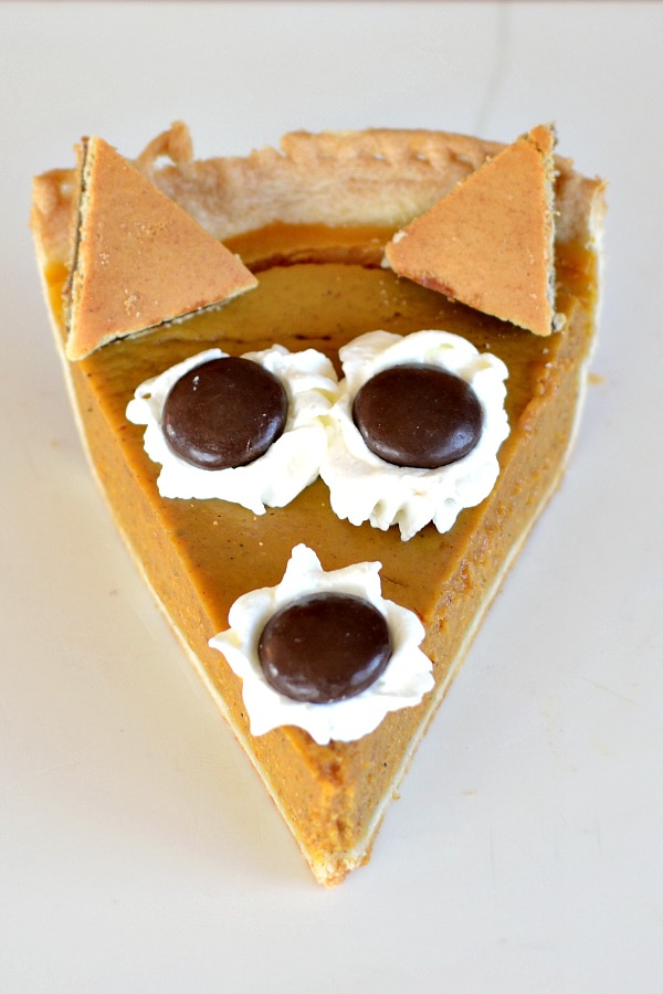 How cute is this pumpkin pie fox? This healthy recipe is perfect for your Thanksgiving table. | Real Food Real Deals