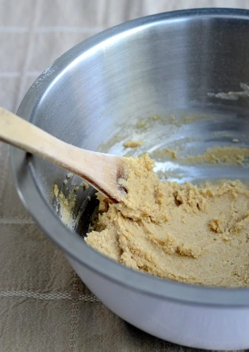 The batter comes together quickly and easily.
