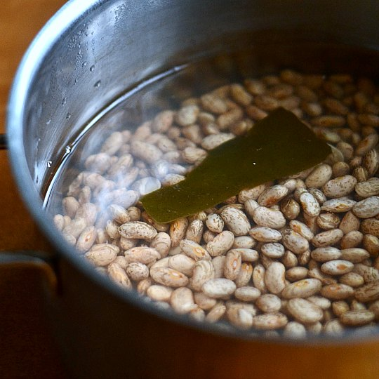 how to cook beans soak