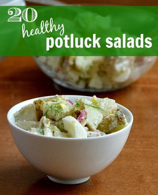 Healthy Potluck Salads