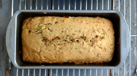 carrot zucchini bread pan