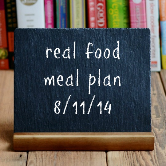 real food meal plan week 26