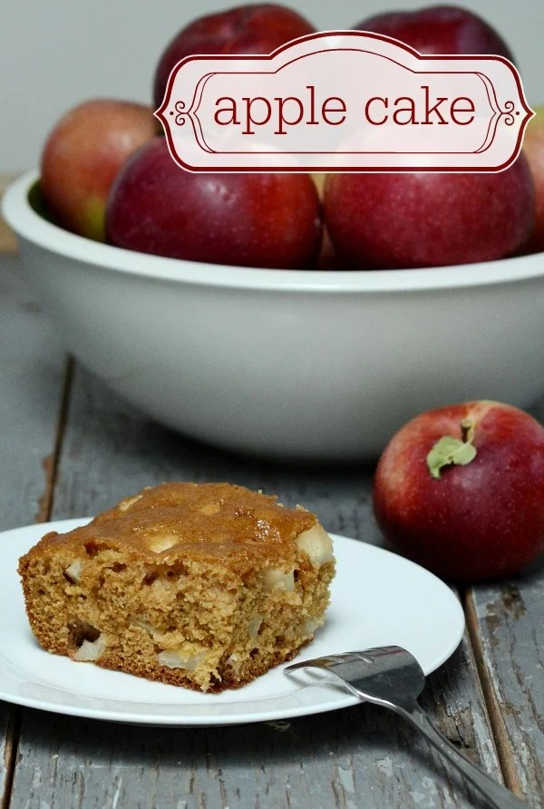 Apple cake recipe for fall | Real Food Real Deals #CutcoFallHarvest