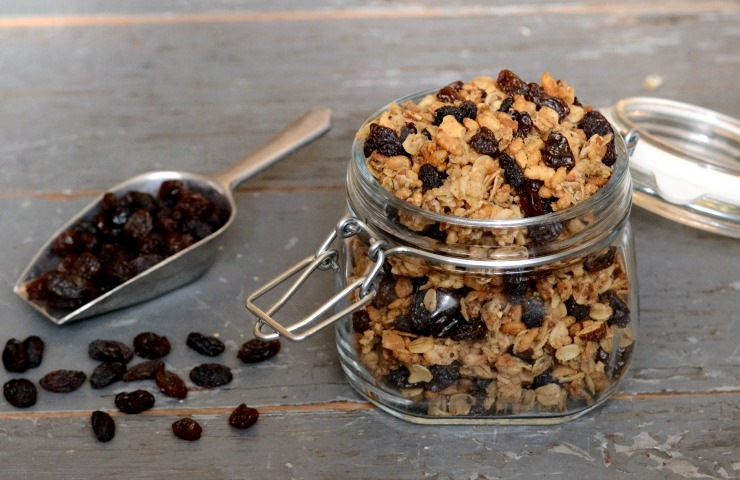 gingerbread granola featured