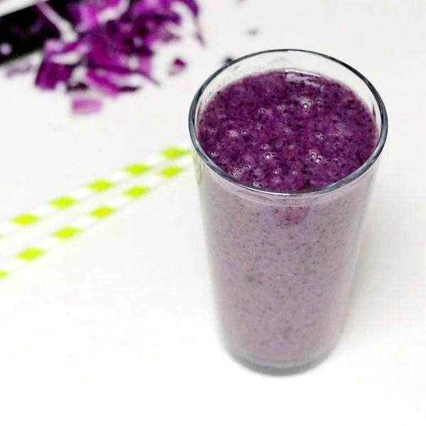 purple detox smoothie