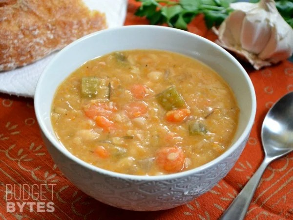 Frugal soup recipes