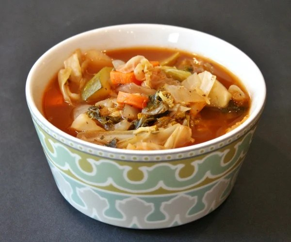 Vegetable Soup, a frugal vegan recipe
