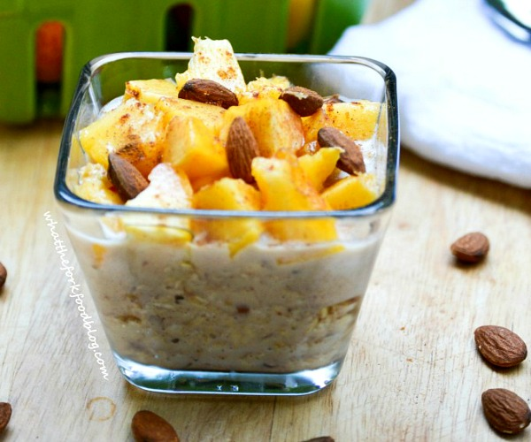 Peach Pie Oatmeal