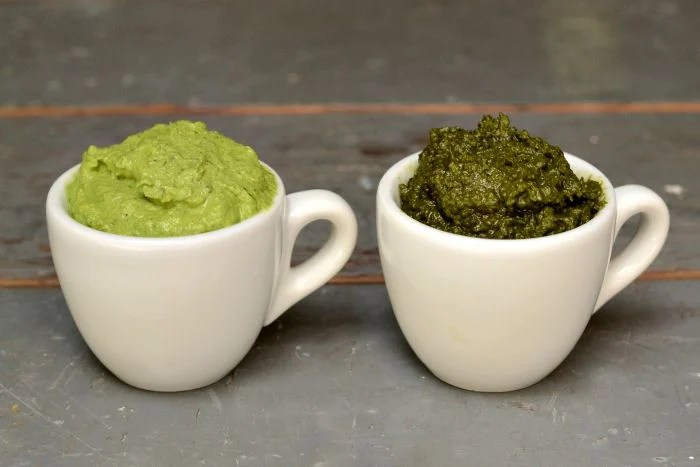 This recipe shares my tip about how to make pesto that stays bright green for several days.