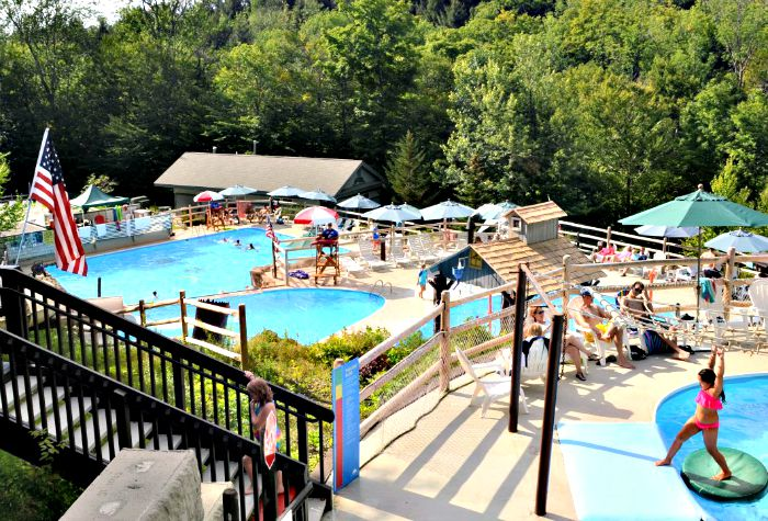 There are so many things to do at Smugglers' Notch Resort, including several pools and other outdoor activities.