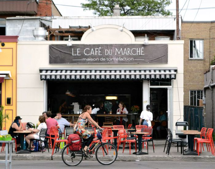 There are so many great cafes and markets in Montreal!